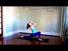 30 Minute Intermediate Yoga Workout | Heart Opening Yoga Flow | YouTube