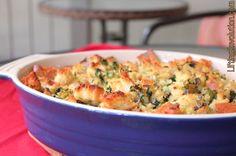 vegan sourdough stuffing #vegan #thanksgiving #recipe