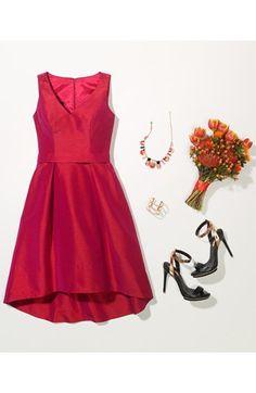 Bridesmaid dresses on pinterest ann taylor blush for Wedding dresses you can wear again