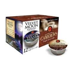 Cameron's Velvet Moon Single Serve Coffees #AmazonGrocery