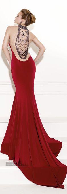 Glamour Gown...Tarik Ediz.Evening Dress 2015.