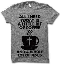 Little Bit Of Coffee – Thug Life Shirts