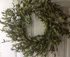 Faux Green Olive Leaf Wreath (No Berries) Wreaths For Door,http://www.amazon.com/dp/B00JHMBZ1K/ref=cm_sw_r_pi_dp_BTvztb0TD69R7AXV