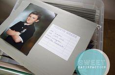 [dandee]: Organizing Children's School Papers + Memorabilia.