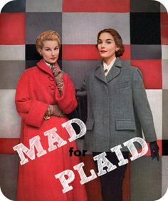 Mad For Plaid! | The Glamorous Housewife #plaid