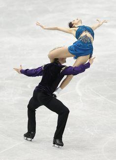 Meryl Davis and Charlie White <3 I love our ice dancers!!!
