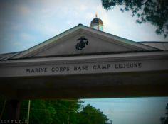 Camp Lejeune, Jacksonville, North Carolina // USMC // military base