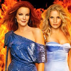 Edie & Bree, two of the most powerful women on Wisteria Lane.