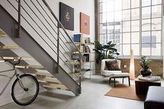 dub studios: floating lofts: living room