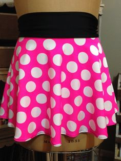 PINKY POWER! Super Cool Costume Running Skirt!  Perfect for your upcoming Disney race or themed race!
