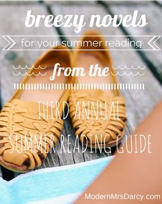 Breezy novels for your summer reading, from Modern Mrs Darcy's 2014 Summer Reading Guide