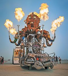 Pictures of the week: The Mutant Vehicles Of Burning Man, by Sidney Erthal and Scott London