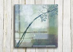Blue window Canvas art print 12/12 by OneDesign4U on Etsy, $39.00
