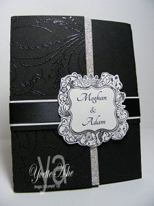 Wedding Invitation (front) - Stampin' Up!