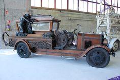 hears, vintage cars, goth, garag, coach, super cars, steampunk, black, antiques