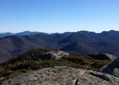 Hike up Wright Peak near Lake Placid.