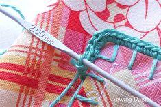Crocheted Edging - Tutorial
