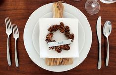 DIY Mini Pinecone Wreath placeholder on Oh So Beautiful Paper.