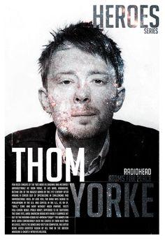 Thom Yorke (Magazine) by Pandaemonium4youreye, via Flickr