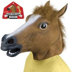 "Quote from a reviewer at Amazon.com: ""This mask imbues the wearer with super-human abilities. The power to make everyone around you feel akward and uncomfortable being first among them. After wearing the mask for several days my identity was consumed and replaced. There is only the horse now. Best purchase I ever made."""