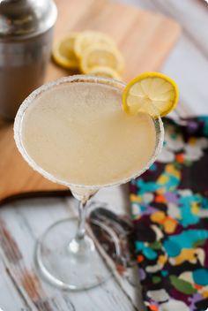 cupcake lemon drop cocktail recipe from @Bridget edwards {bake at 350}