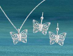 Celtic Butterfly Jewelry