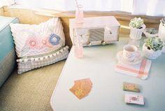 enjoy cupcak, art camper, cottag life, classi camp, vintag trailer, caravan dream