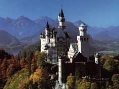 Neuschwanstein Castle - Germany    One of my favorites!!