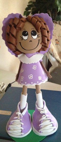 Sweetie Fofucha Doll by maribelgalvan on Etsy. $20.00, via Etsy.
