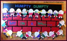 Humpty Dumpty bulletin board