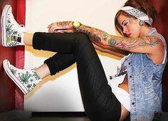 Arm tattooes