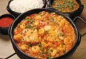 ... shrimp in a deep pan, + coconut milk & cook, stir constantly until