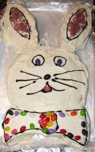 Easter Bunny Cake Recipe – How To Make An Easter Bunny Cake bunni cake, cake recipes