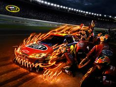 Jeff Gordon's #24 monster car