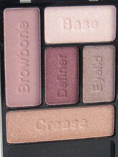 Wet n Wild Smoke and Melrose Coloricon Eyeshadow Palette