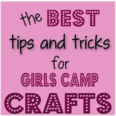 Girls Camp Crafts