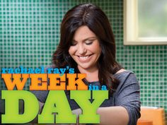 Rachael Ray's Week in a Day...great site for recipes for cooking ahead for the week!