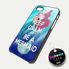Keep Calm Ariel The Little Mermaid iPhone 5 Case Hard Plastic