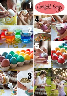 Confetti Eggs You know for the big kids