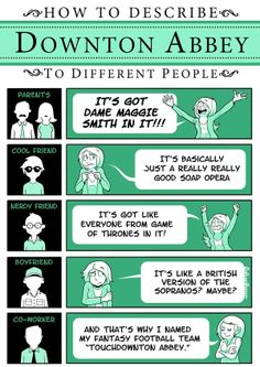 How to describe...