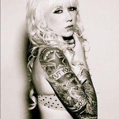 TRICIA #inkedgirloftheday #igotd #inked #ink #inkedgirls #tattoo #tattoos #tats #girl #inkedmag #tattooedwomen #girlswithtattoos #womenwithtattoos