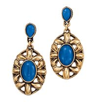 Look of Cat's-Eye Drop Earrings --  Special Offer Jewelry Collections - 2 for $20! Mix or Match  Save!  Shop Now | See more about drop earrings, earrings and avon.