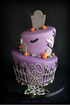 Purple and Black  Boo!