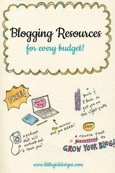 Blogging Resources f