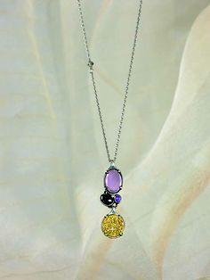 #Glittering. #Gleaming. #Gorgeous. #Drusy, #Hematite, #Cubic #Zirconia, #Glass, #Sterling #Silver. #Silpada #Jewelry
