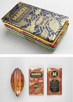 Marou Chocolate (from Vietnam) | 34 Coolest Food Packaging Designs Of 2012