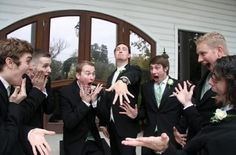 Fun Wedding Photography Ideas. This is hilarious!