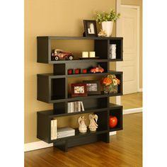 Interesting bookcase design