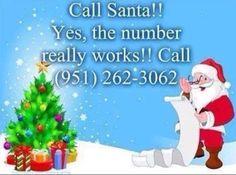 Call Santa!!!