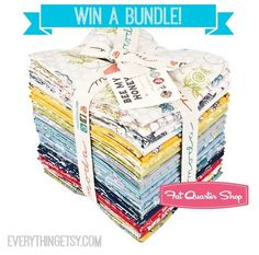 Designer Fabric Giveaway from Fat Quarter Shop #giveaway #woot #sewing